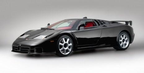 Mobil Sport Bugatti EB110 Produksi THN 1991-1995
