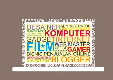 Peran Teknologi Bagi Kemajuan Indonesia