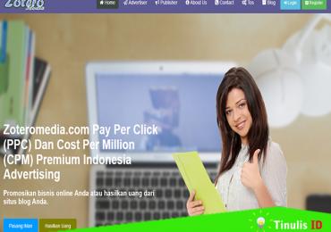 Kontes SEO Zoteromedia.com, PPC dan CPM Premium Indonesia