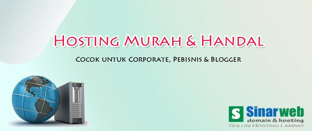 Rekomendasi Hosting Murah dan Terbaik Untuk Blogger Indonesia – hosting sinarweb