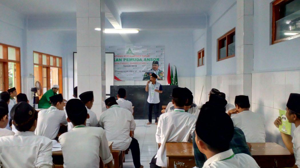 Gus, Ikuti Kegiatan Pelatihan Kepemimpinan Dasar GP Ansor