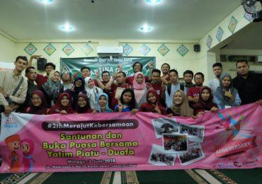 Berbagi Kebahagiaan #2thMerajutKebersamaan Bareng Komunitas Blogger Jakarta
