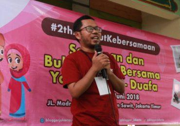 Sambutan Perwakilan dari Blogger Jakarta - Joko Yugianto