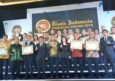 Peraih Penghargaan Bisnis Indonesia Financial Awards 2018