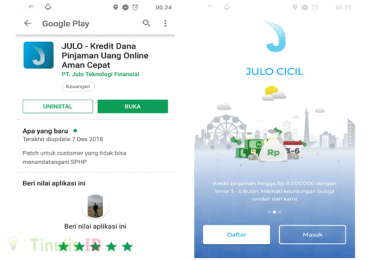Download & Instal Aplikasi Julo