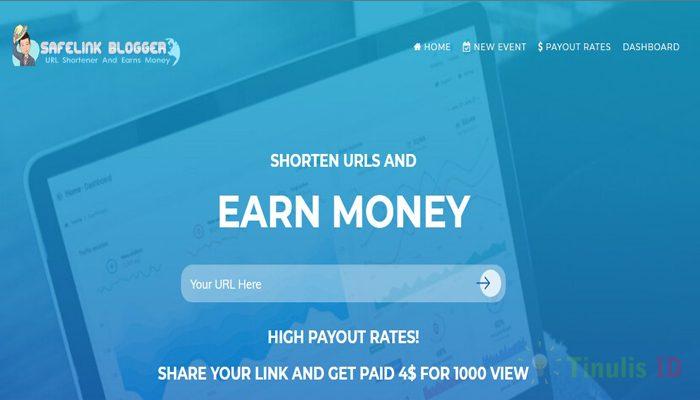 Safelinkblogger.com – Situs Penyedia Short Link Terbaik di Indonesia