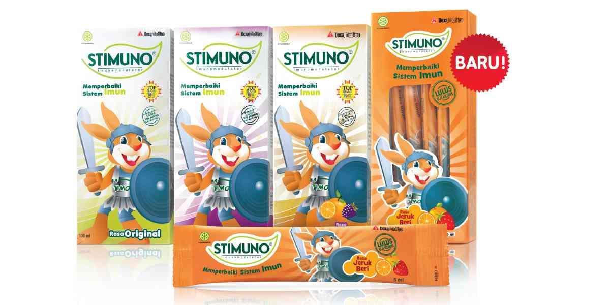 Stimuno untuk Balita – Vitamin