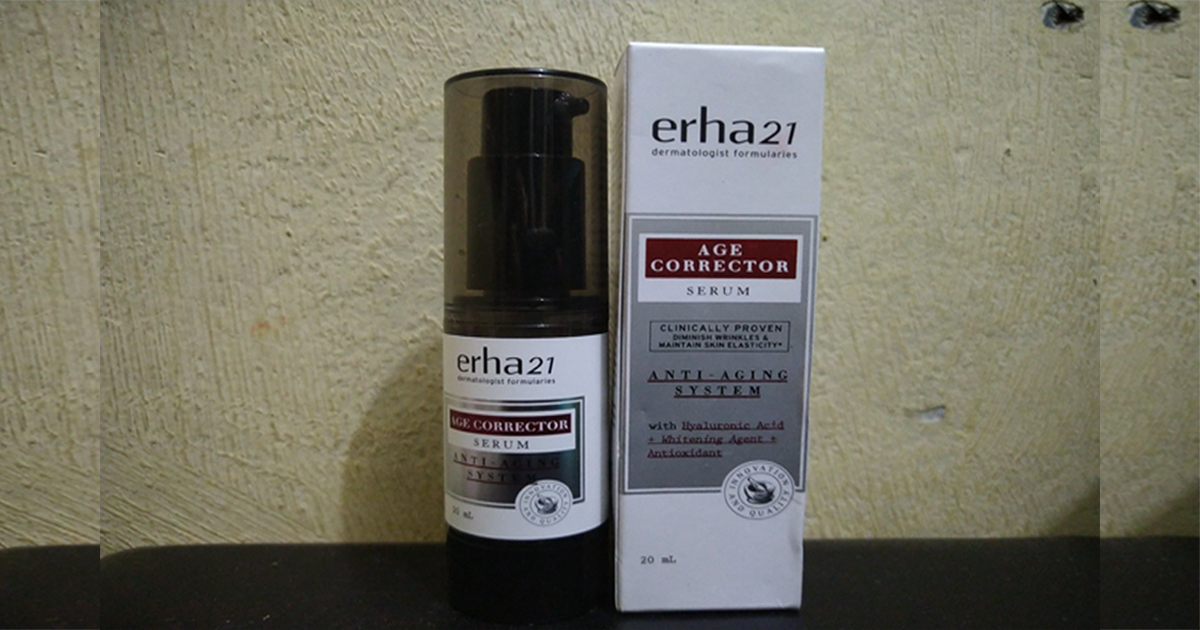 Serum Anti Penuaan – Erha21 Age Corrector Serum