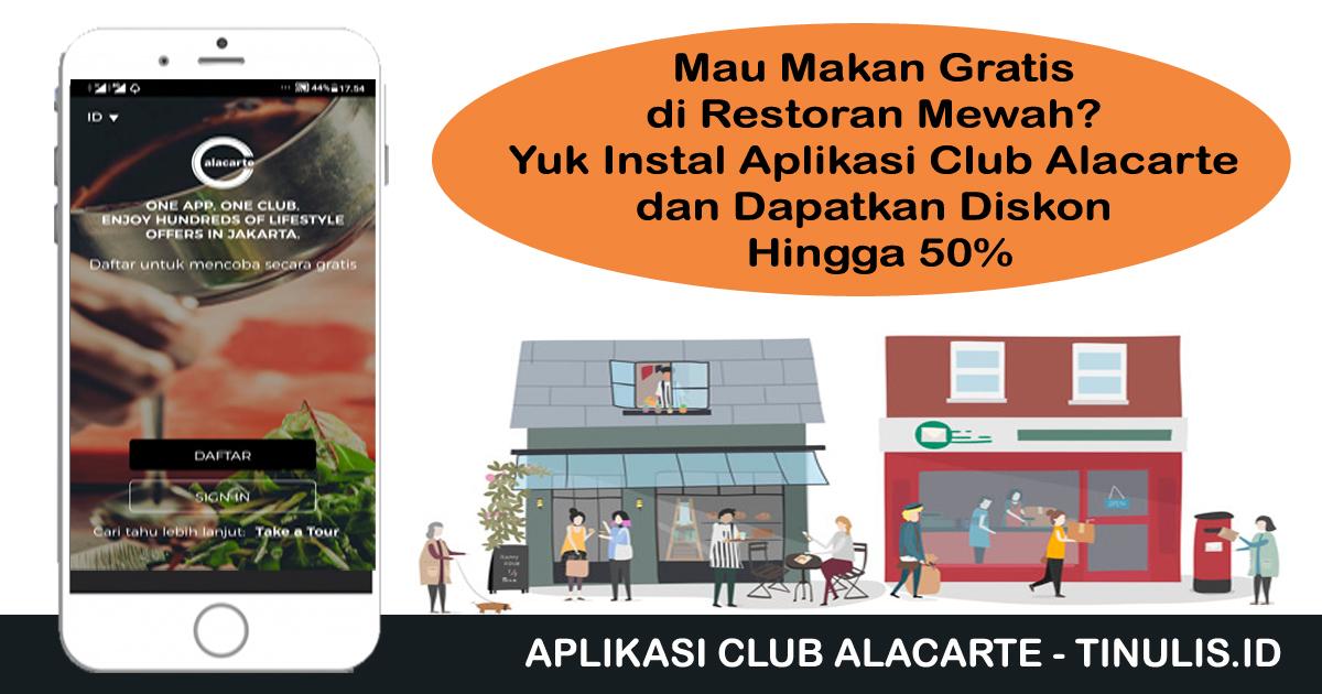 Aplikasi Club Alacarte