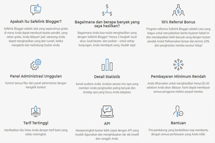 Safelink Blogger Alternative Penghasilan Blogger Indonesia