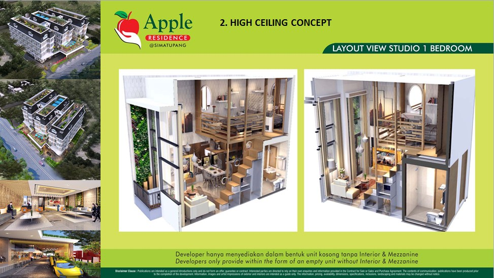 Unit Single Apple Residence