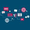 Perbedaan SEO dan SEM Menurut Seorang Blogger Pemula