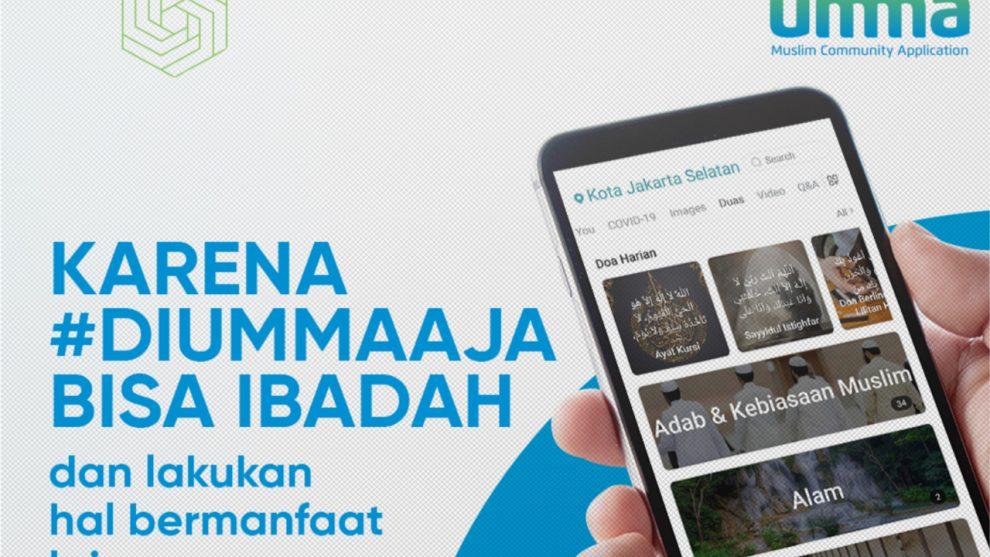 Aplikasi Umma Luncurkan Fitur Special, Memudahkan Aktivitas selama Bulan Ramadhan